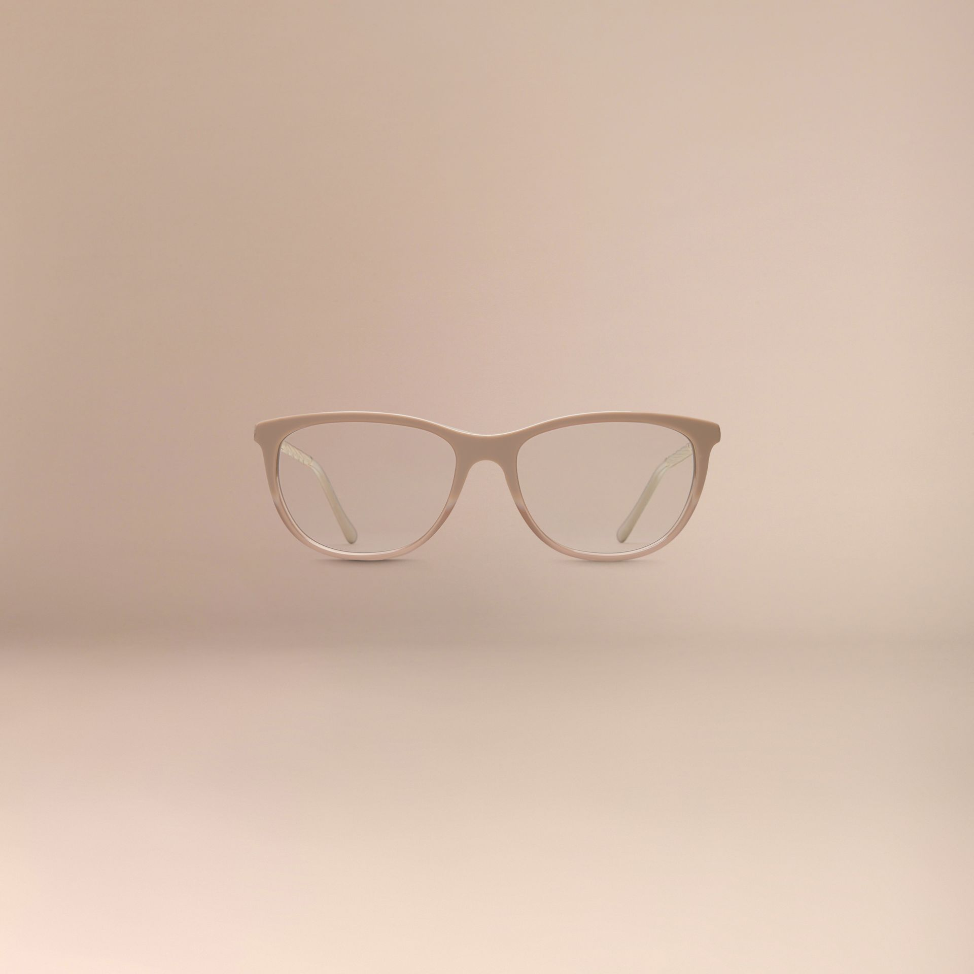 Gabardine Collection Cat-Eye Optical Frames Honey - gallery image 3