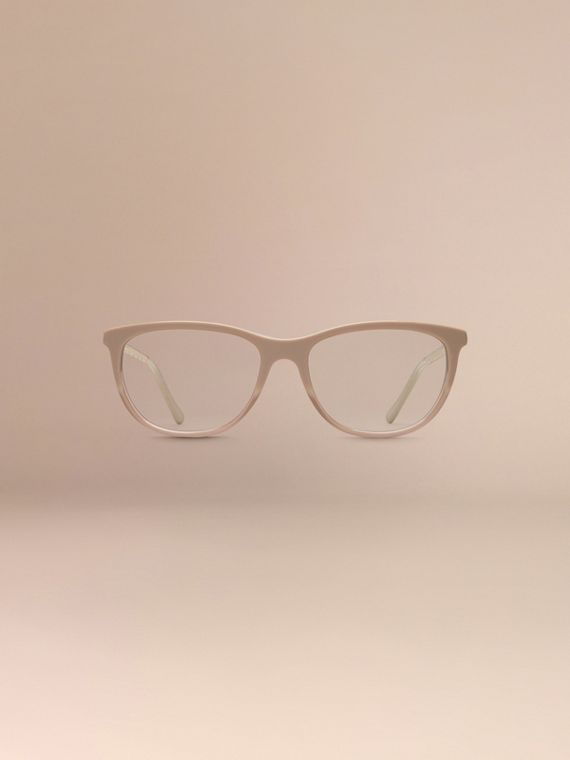 Gabardine Collection Cat-Eye Optical Frames Honey - cell image 2