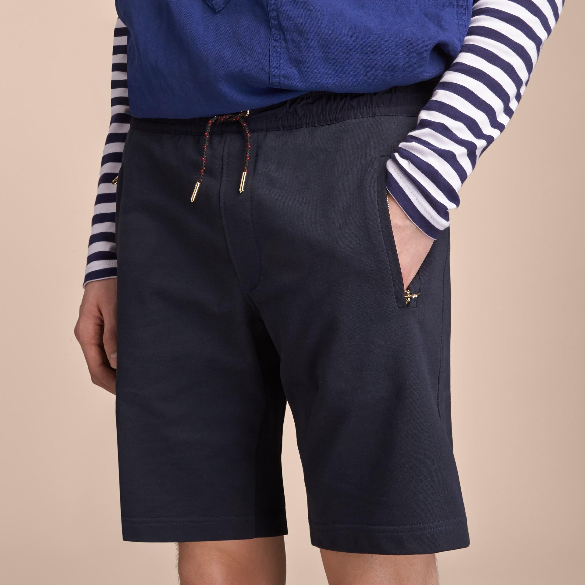 Lightweight Cotton Jersey Shorts - gallery image 5