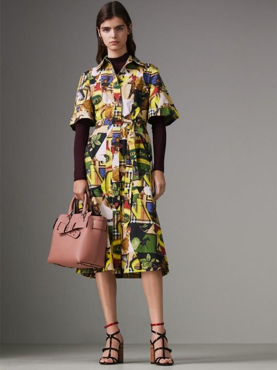 Petit sac TheBelt en cuir (Rose Cendré) - Femme   Burberry Canada - cell image 2