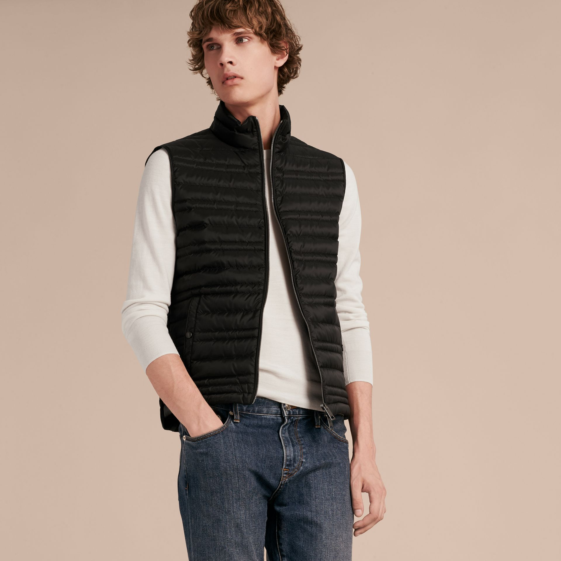 Car Coat with Detachable Down-filled Gilet - gallery image 6