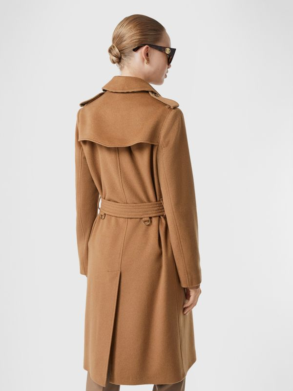 Cashmere Trench Coat in Bronze - Women | Burberry United Kingdom - cell image 2