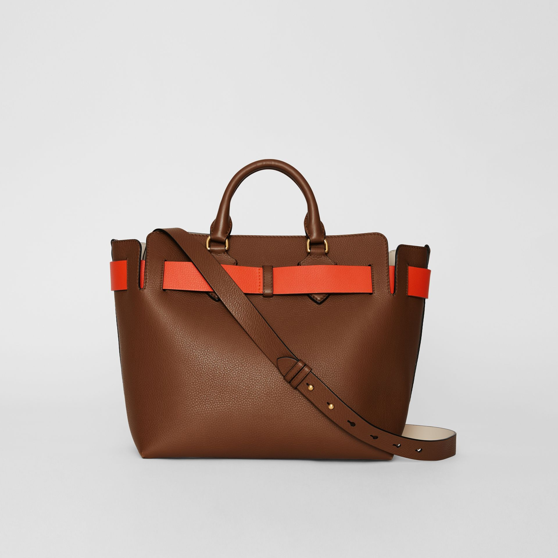 The Medium Leather Belt Bag in Tan - Women | Burberry Australia - gallery image 7