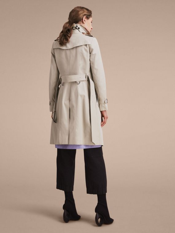 Stone The Chelsea – Long Heritage Trench Coat Stone - cell image 3