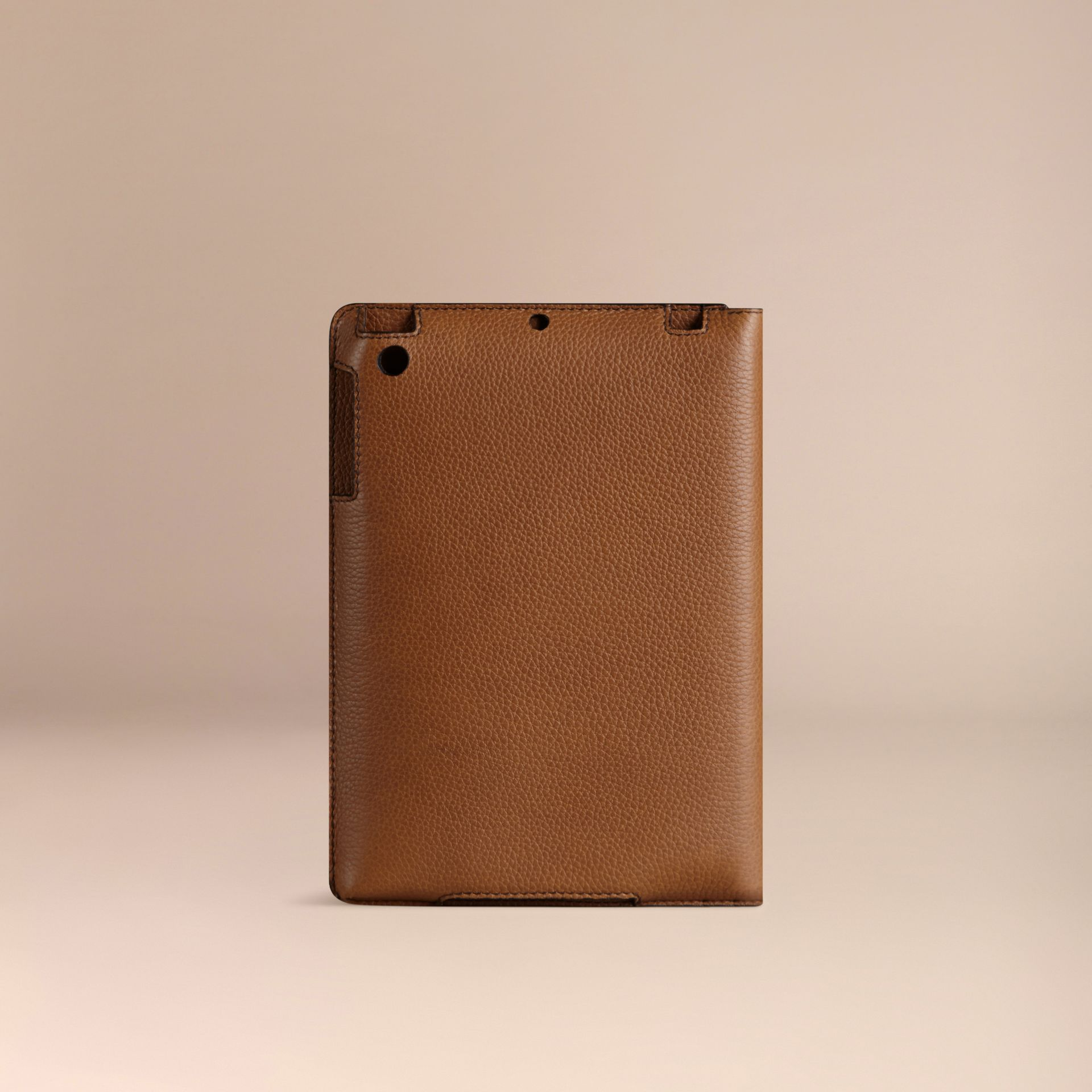 Tan Grainy Leather iPad Mini Case Tan - gallery image 3