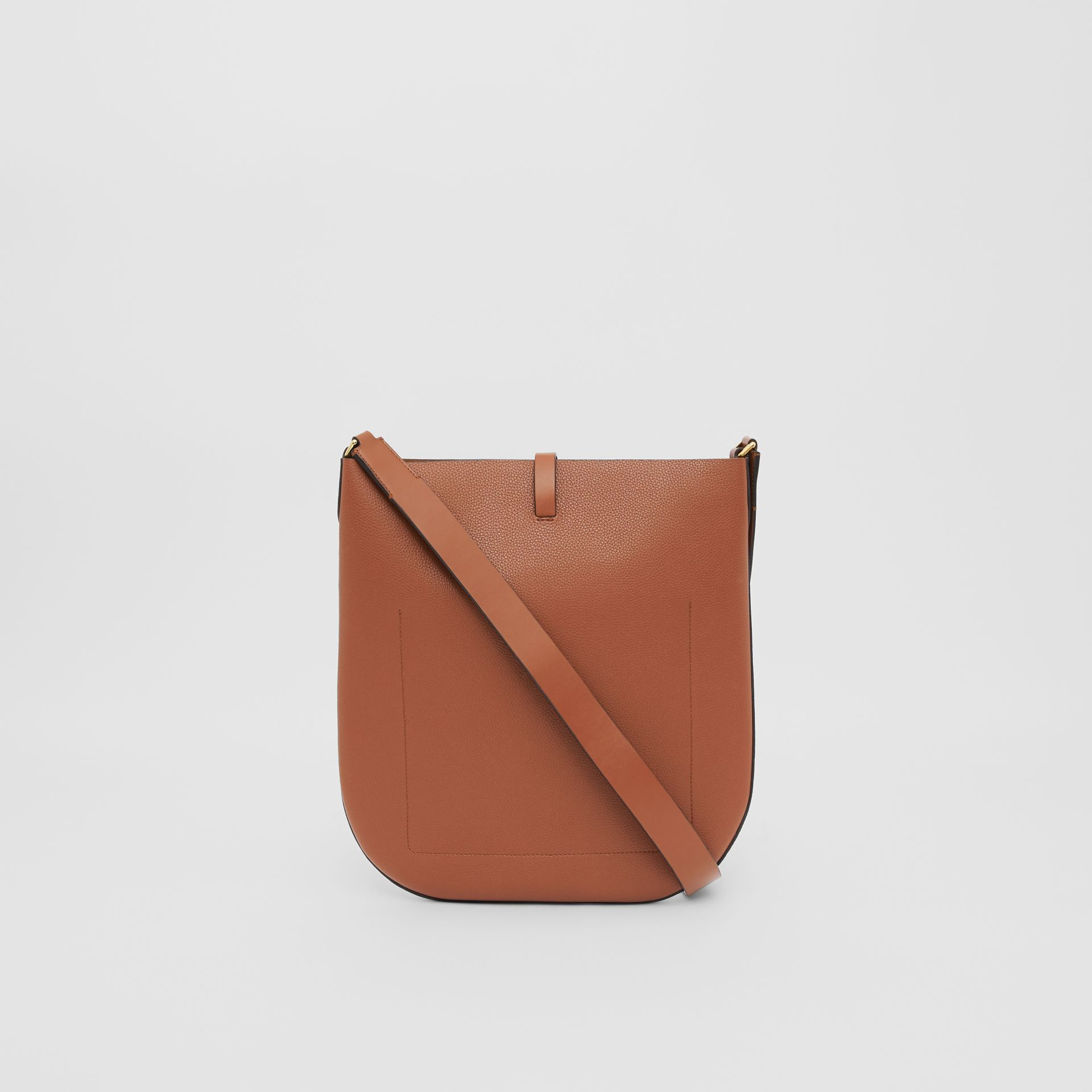 Grainy Leather Anne Bag in Tan - Women | Burberry United Kingdom - gallery image 5