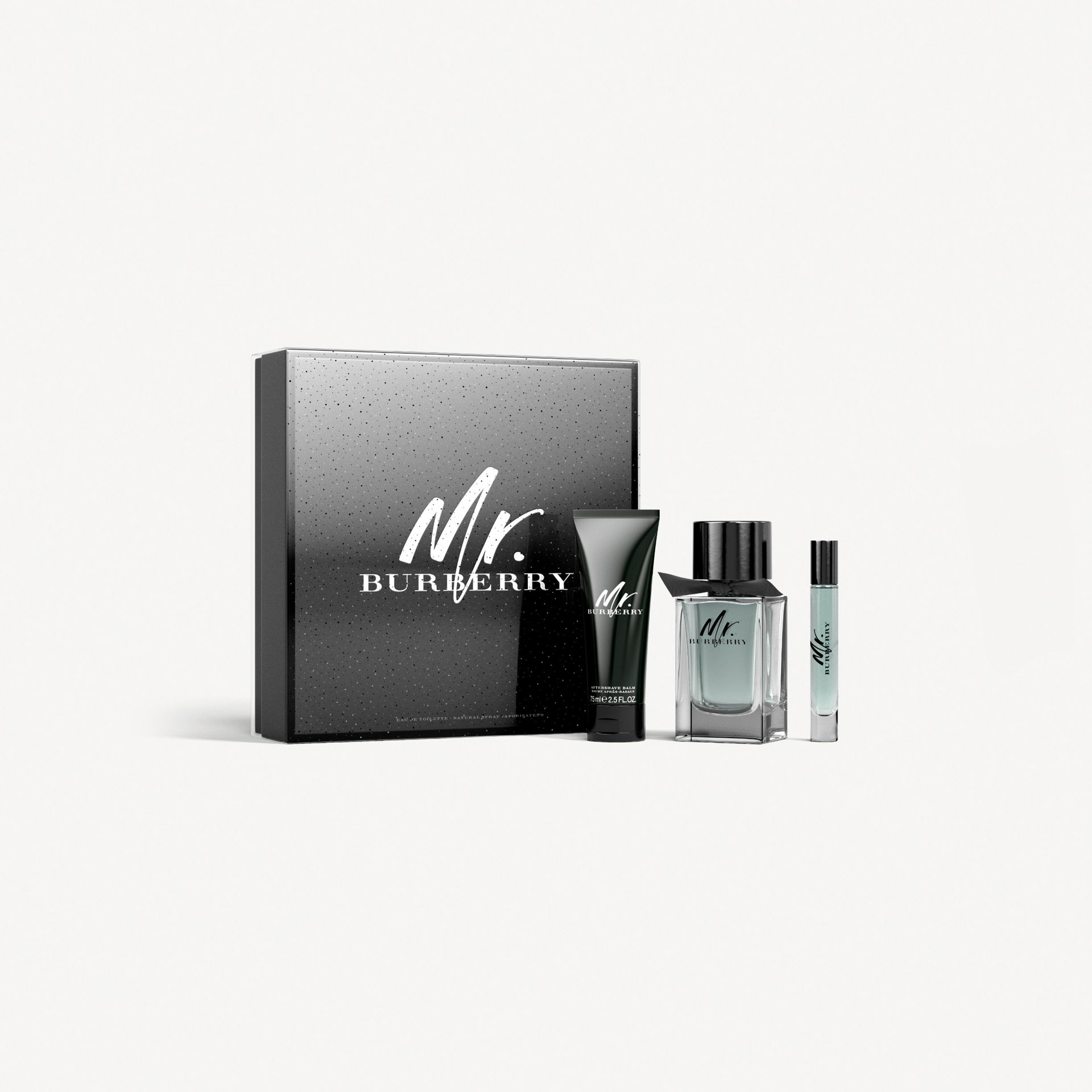 Mr. Burberry Eau de Toilette Festive Luxury Set in No Colour - Men | Burberry - gallery image 1