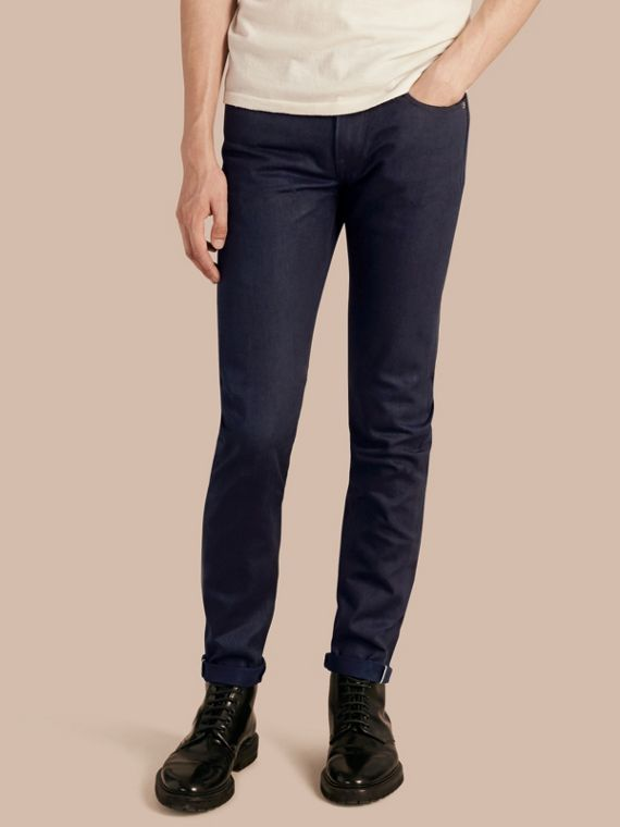 Slim Fit Saturated Selvedge Jeans