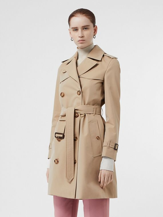 Trench coat Islington corto (Miel)