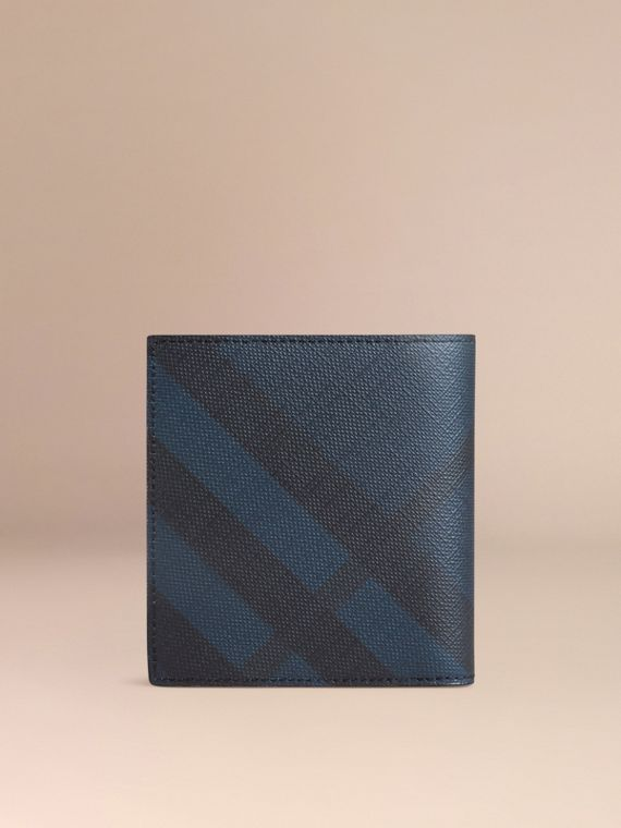 Navy/black London Check ID Wallet Navy/black - cell image 2