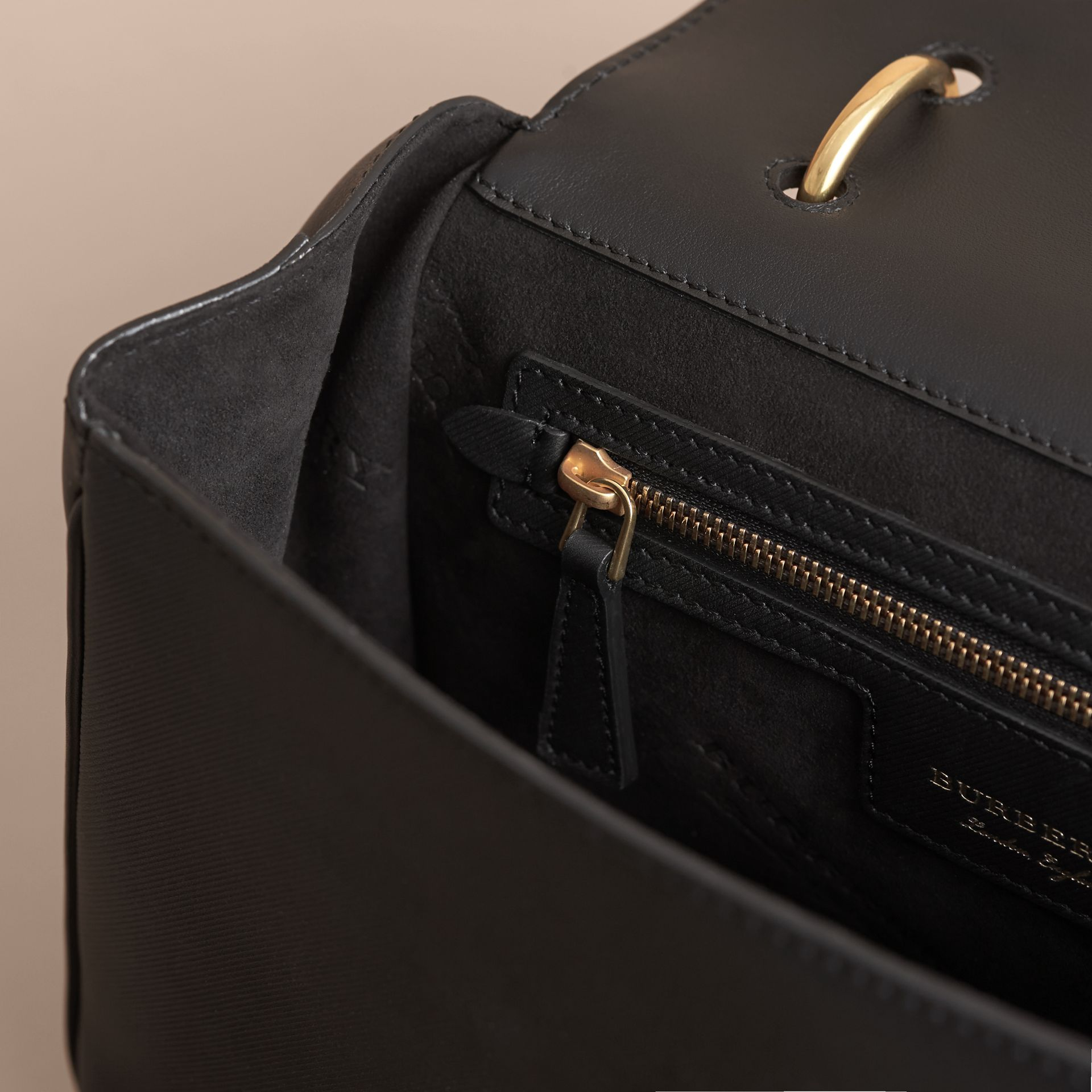 The Medium DK88 Top Handle Bag Black - gallery image 6
