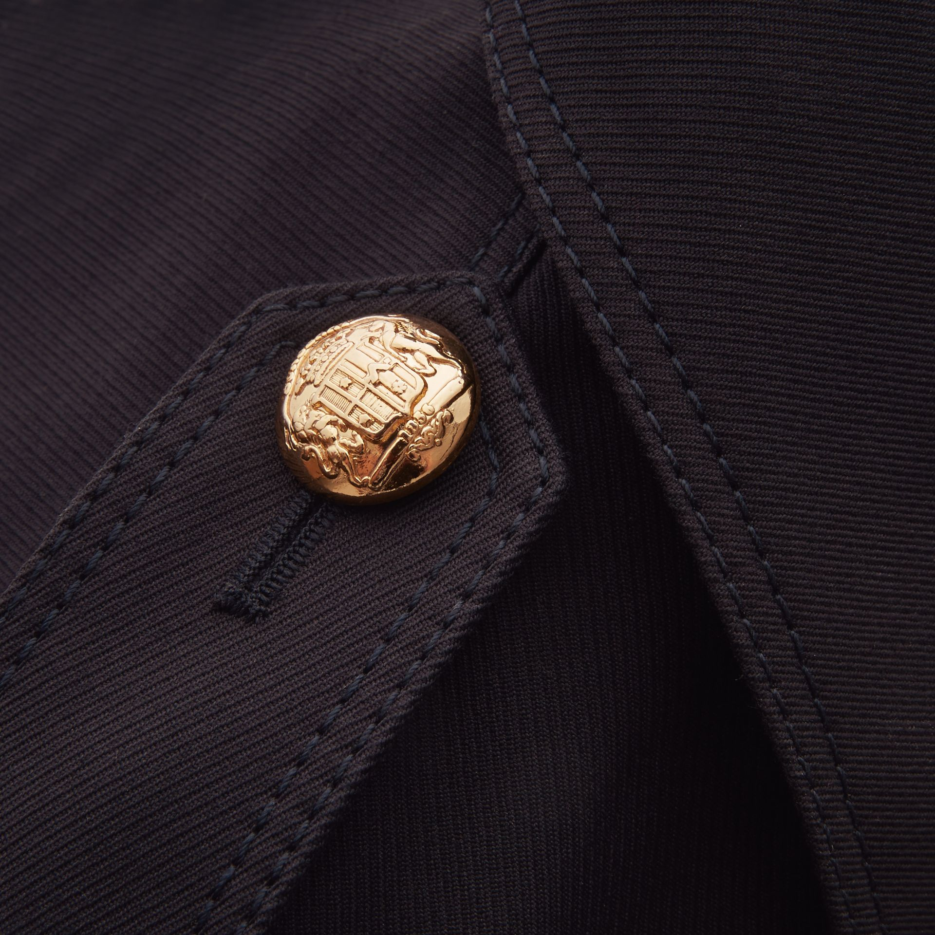 Military Detail Cotton Twill Field Jacket - gallery image 2