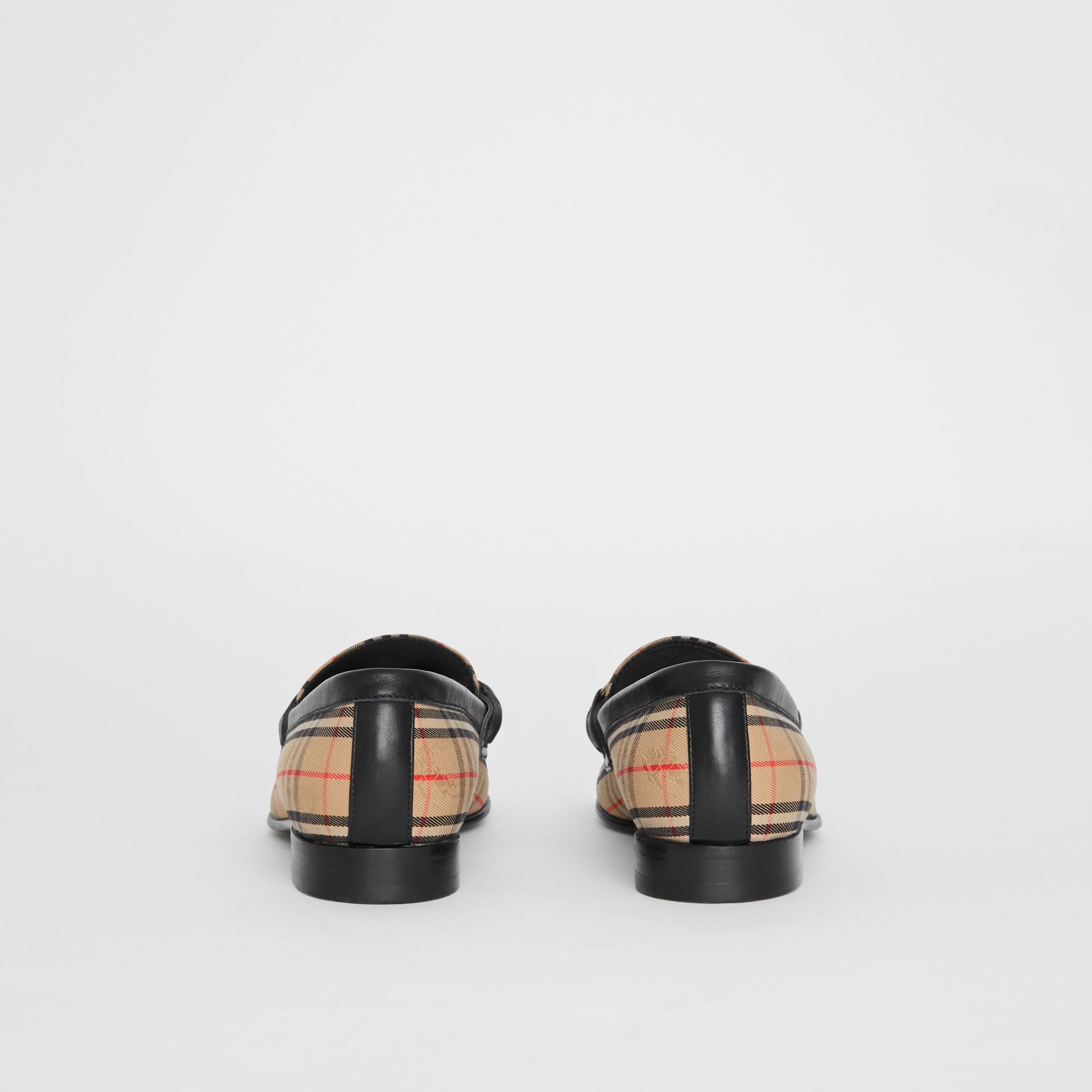 The 1983 Check Link Loafer in Black - Women | Burberry - gallery image 3