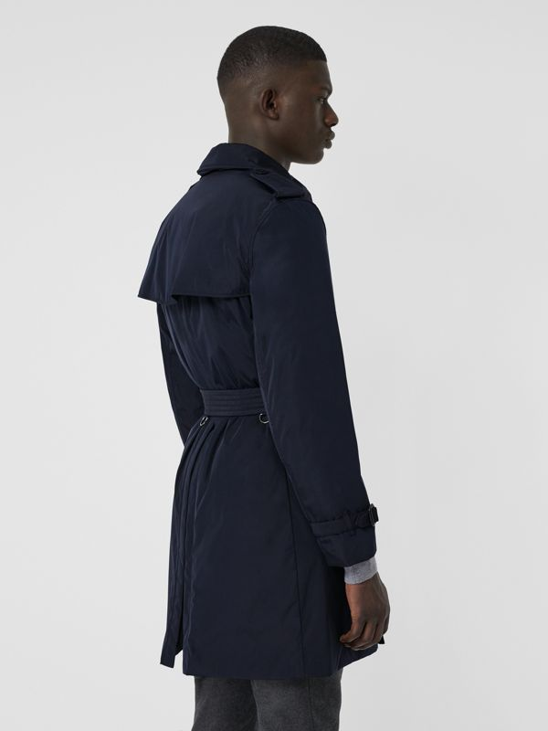 Quilt-lined Nylon Trench Coat in Ink - Men | Burberry - cell image 2