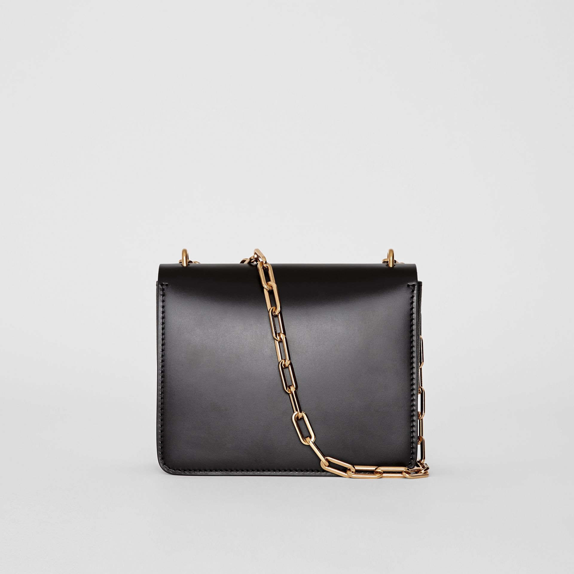 Petit sac The D-ring en cuir (Noir) - Femme | Burberry - photo de la galerie 7