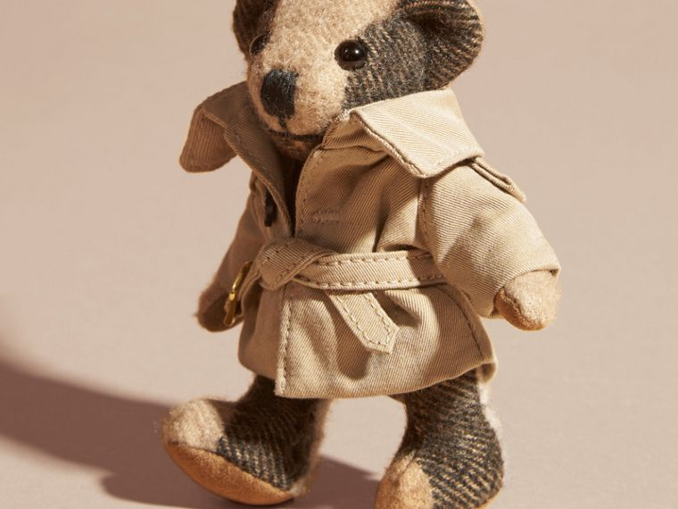 Camel Thomas Bear Charm in Trench Coat - cell image 1