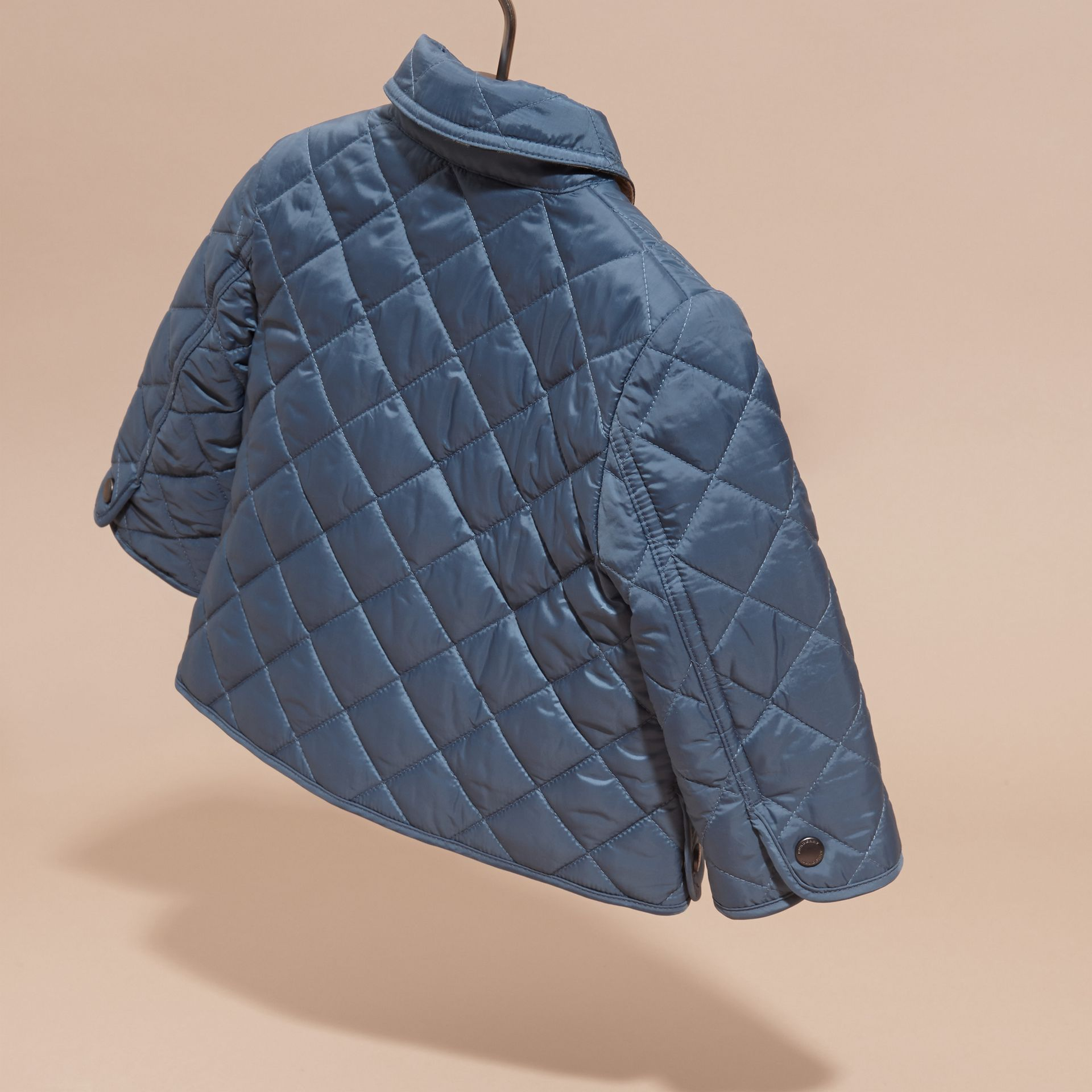 Bright steel blue Lightweight Quilted Jacket Bright Steel Blue - gallery image 4