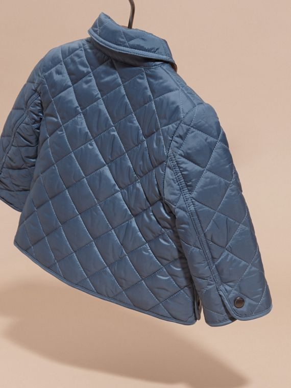 Bright steel blue Lightweight Quilted Jacket Bright Steel Blue - cell image 3