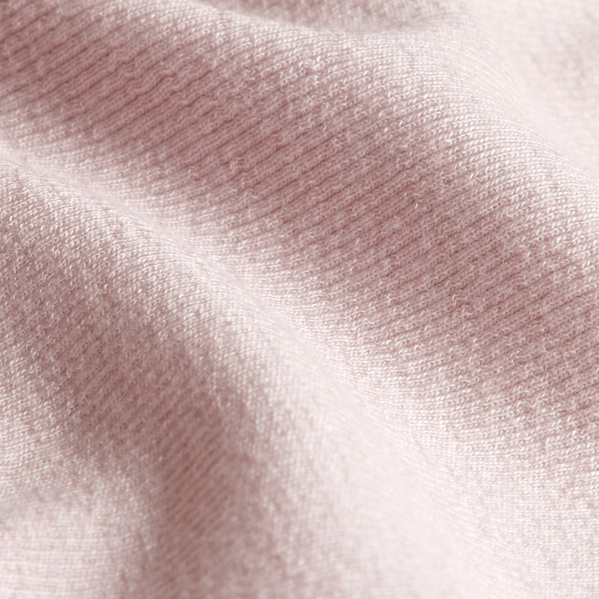 Pale pink Stretch Cotton Lyocell Vest Pale Pink - gallery image 2