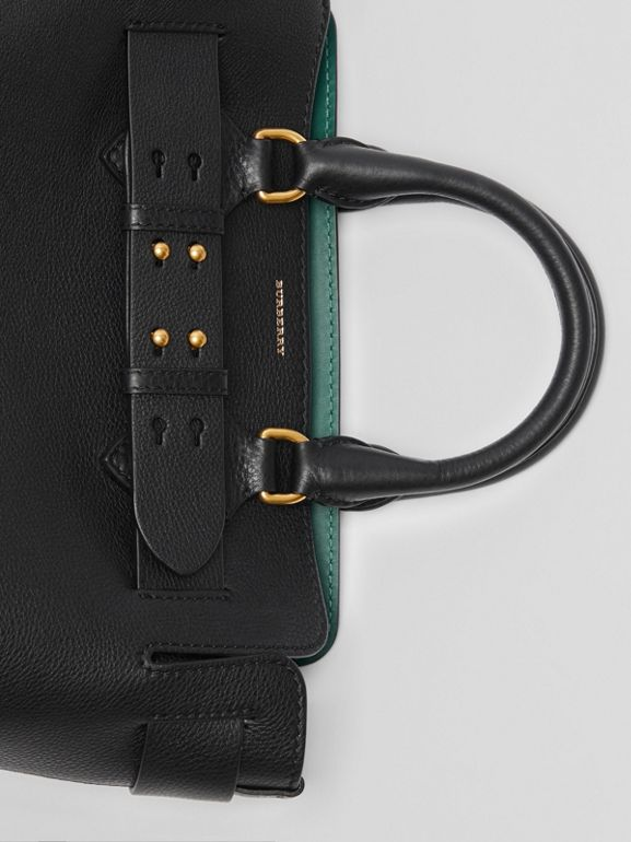 The Small Leather Belt Bag in Black - Women | Burberry United Kingdom - cell image 1