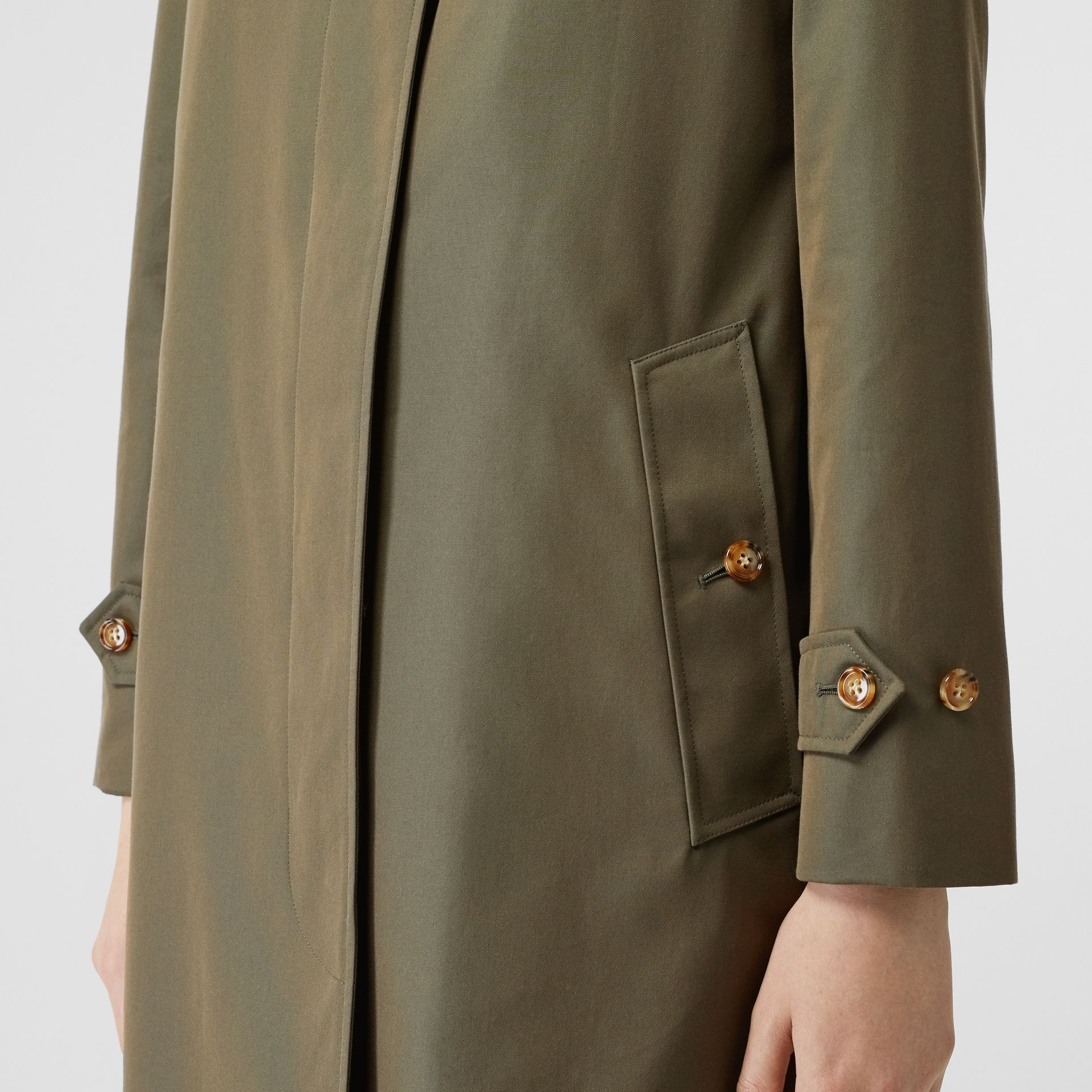 The Pimlico Heritage Car Coat in Oregano - Women | Burberry United Kingdom - gallery image 4