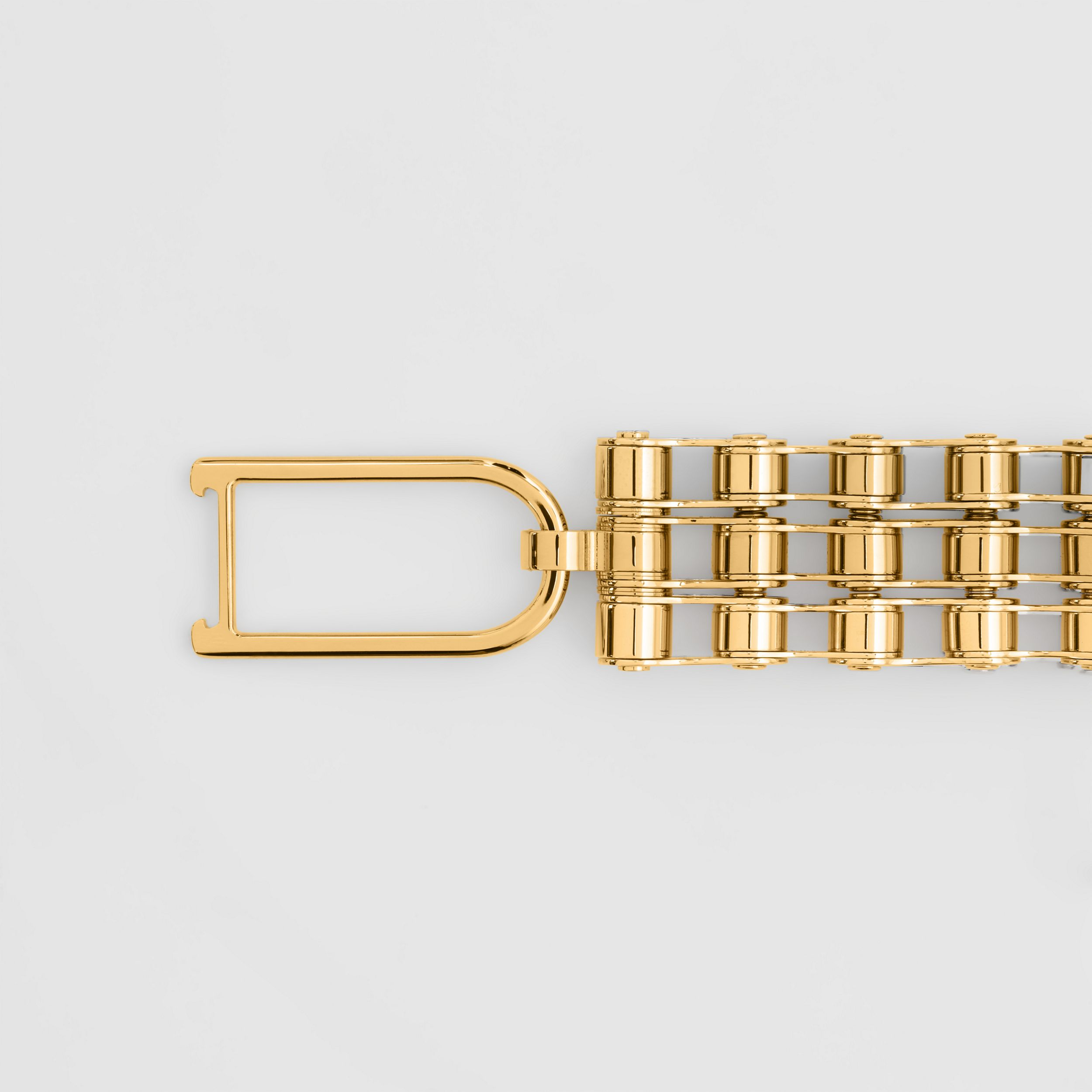 Bicycle Chain Gold-plated Bracelet in Light | Burberry Australia - 3