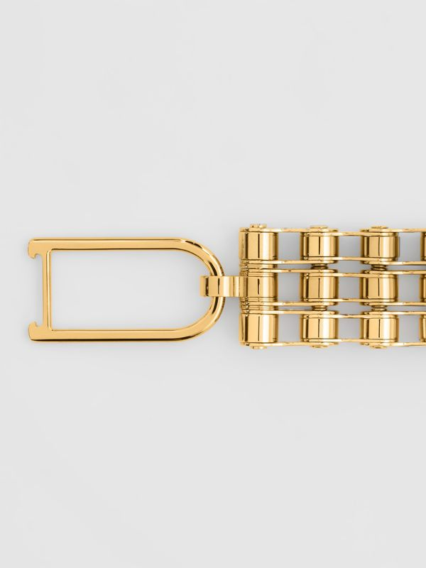 Bicycle Chain Gold-plated Bracelet in Light - Women | Burberry - cell image 2