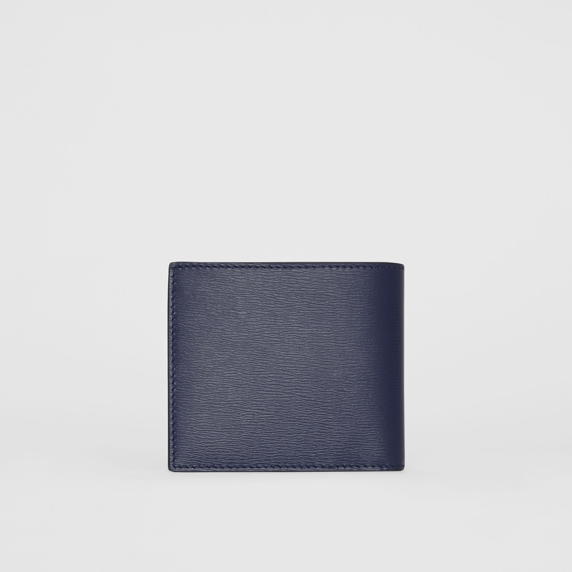London Leather International Bifold Wallet in Navy - Men | Burberry Hong Kong - gallery image 4