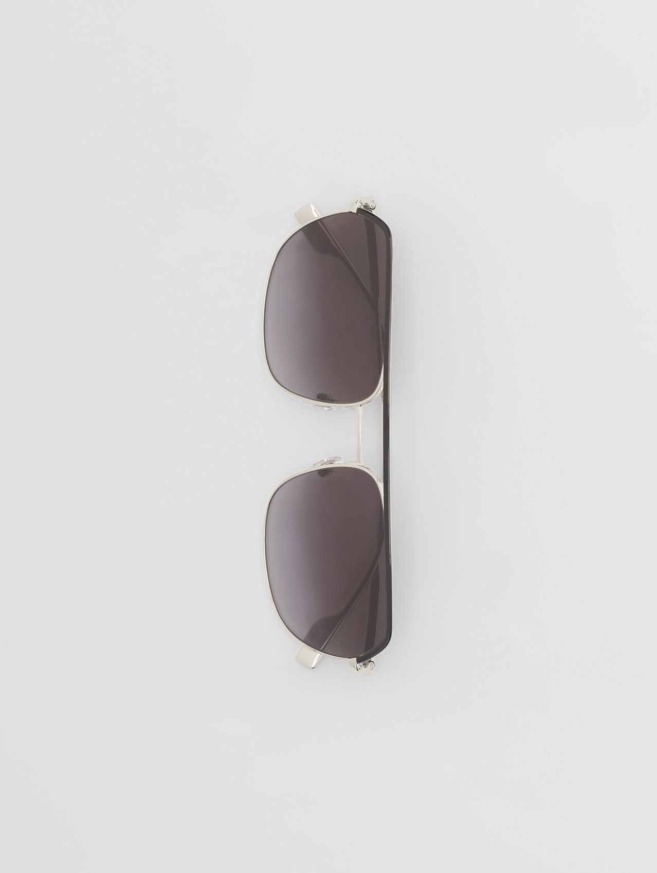 Square Pilot Sunglasses in Black