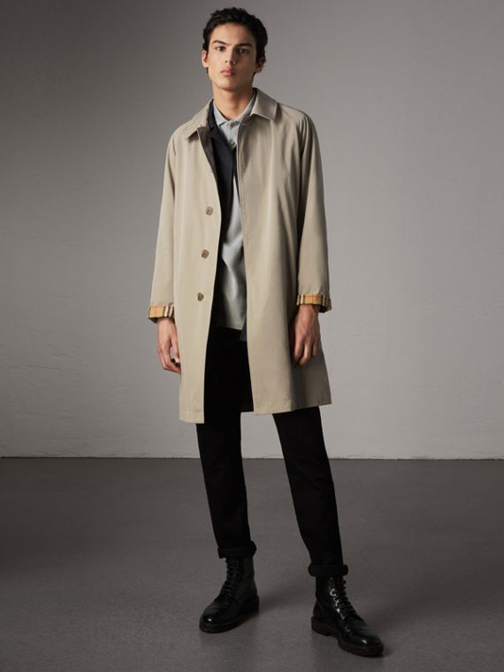 The Camden Car Coat in Sandstone