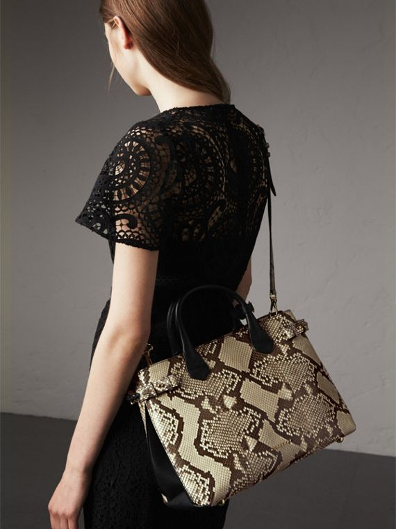 Sac The Banner medium en python - Femme | Burberry - cell image 2
