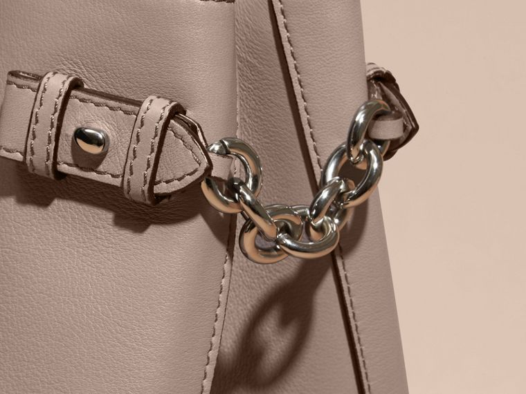 The Medium Banner in Leather with Chain Detail - Women | Burberry - cell image 1