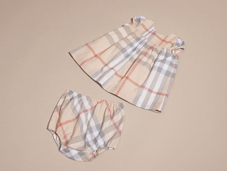 Cotton Six-piece Baby Gift Set in White | Burberry Canada - cell image 4