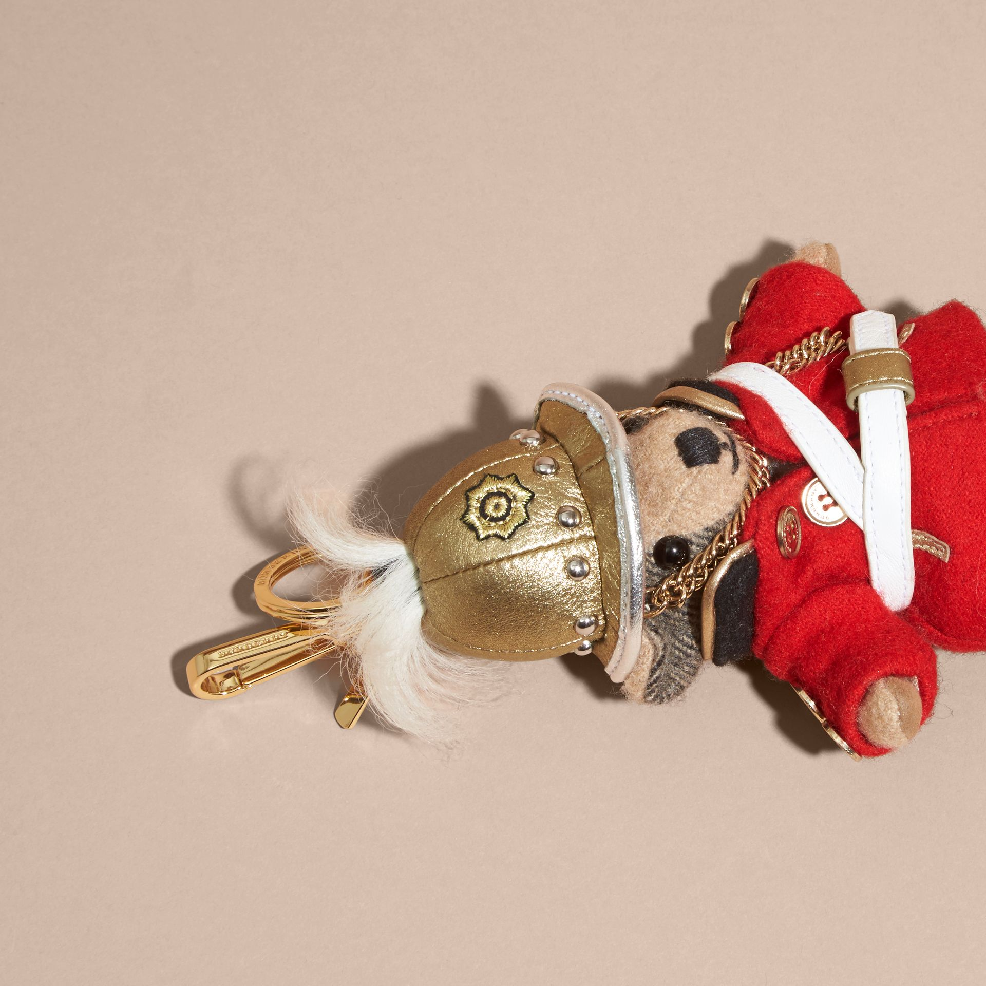 The Regimental Thomas Bear Charm | Burberry - gallery image 3