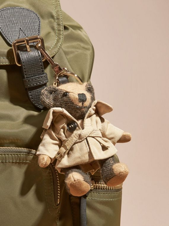 Ciondolo orsetto Thomas con trench coat | Burberry - cell image 2