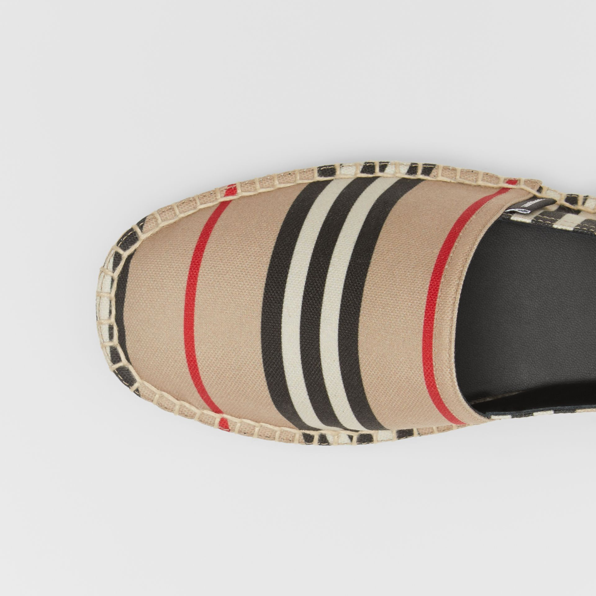 Icon Stripe Espadrilles in Archive Beige - Men | Burberry United Kingdom - gallery image 1