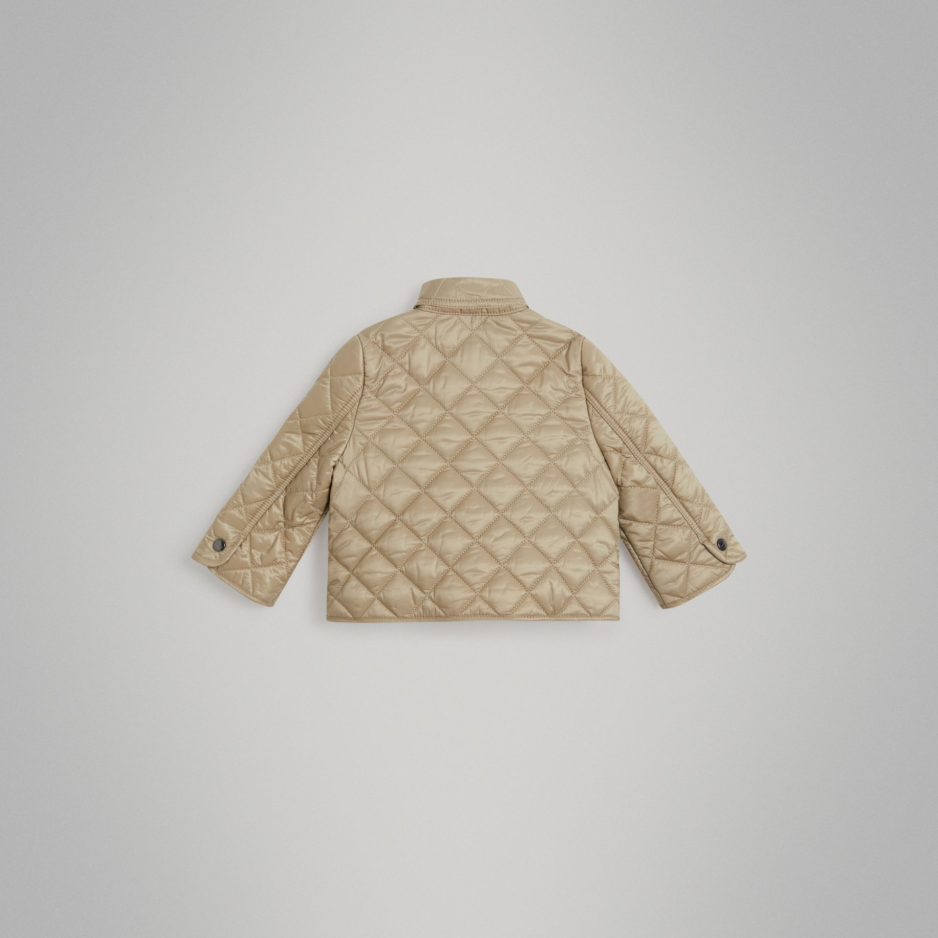 Lightweight Diamond Quilted Jacket in Mink - Children | Burberry Australia - gallery image 3