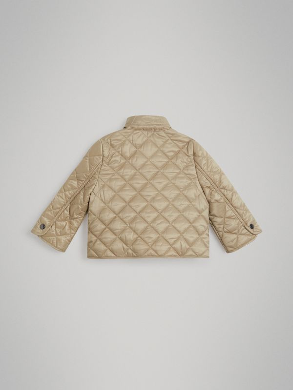 Lightweight Diamond Quilted Jacket in Mink - Children | Burberry Australia - cell image 3