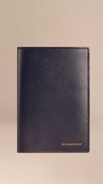 London Leather Passport Cover