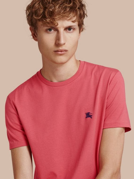 Liquid-soft Cotton T-Shirt Dusky Pink