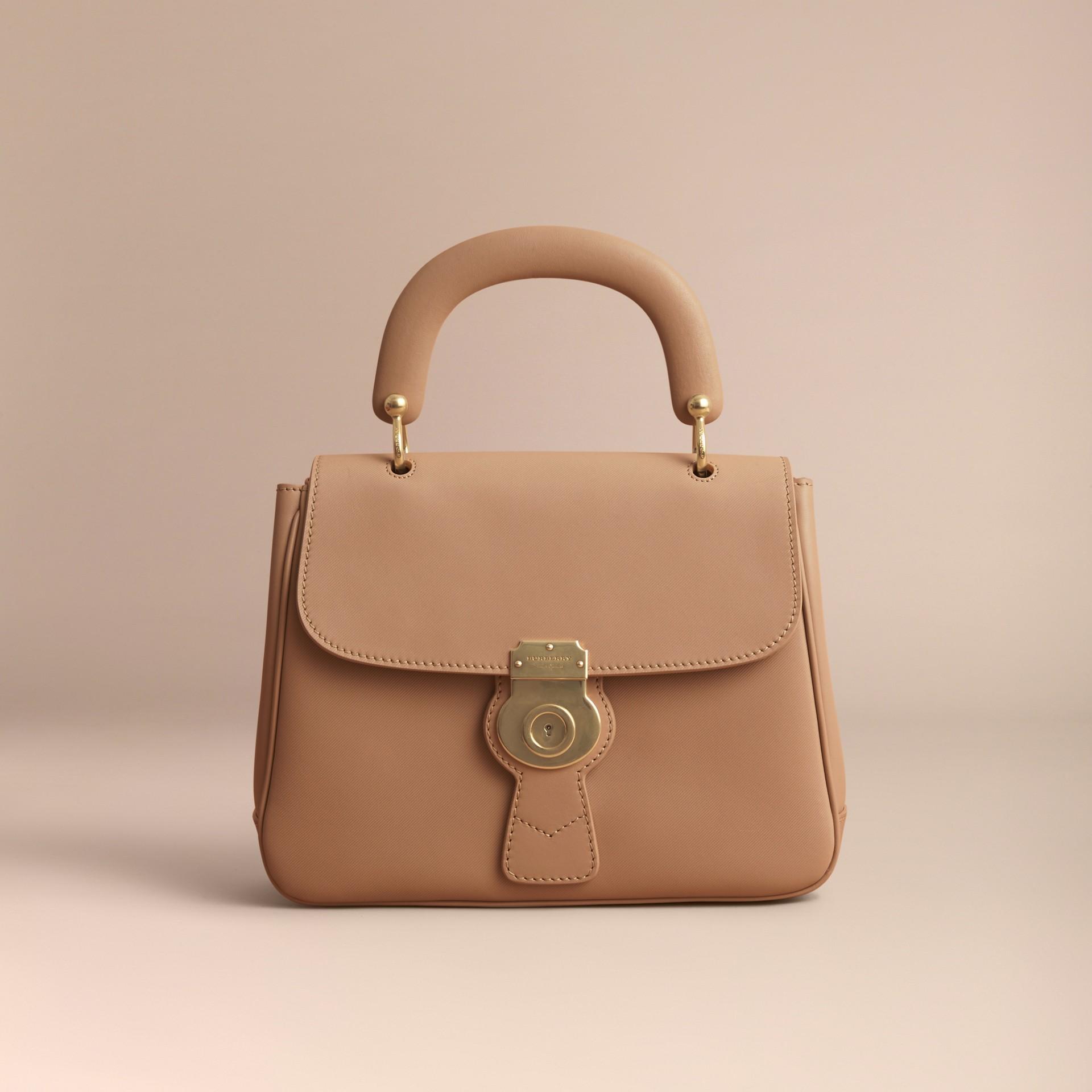 The Medium DK88 Top Handle Bag Honey - gallery image 8