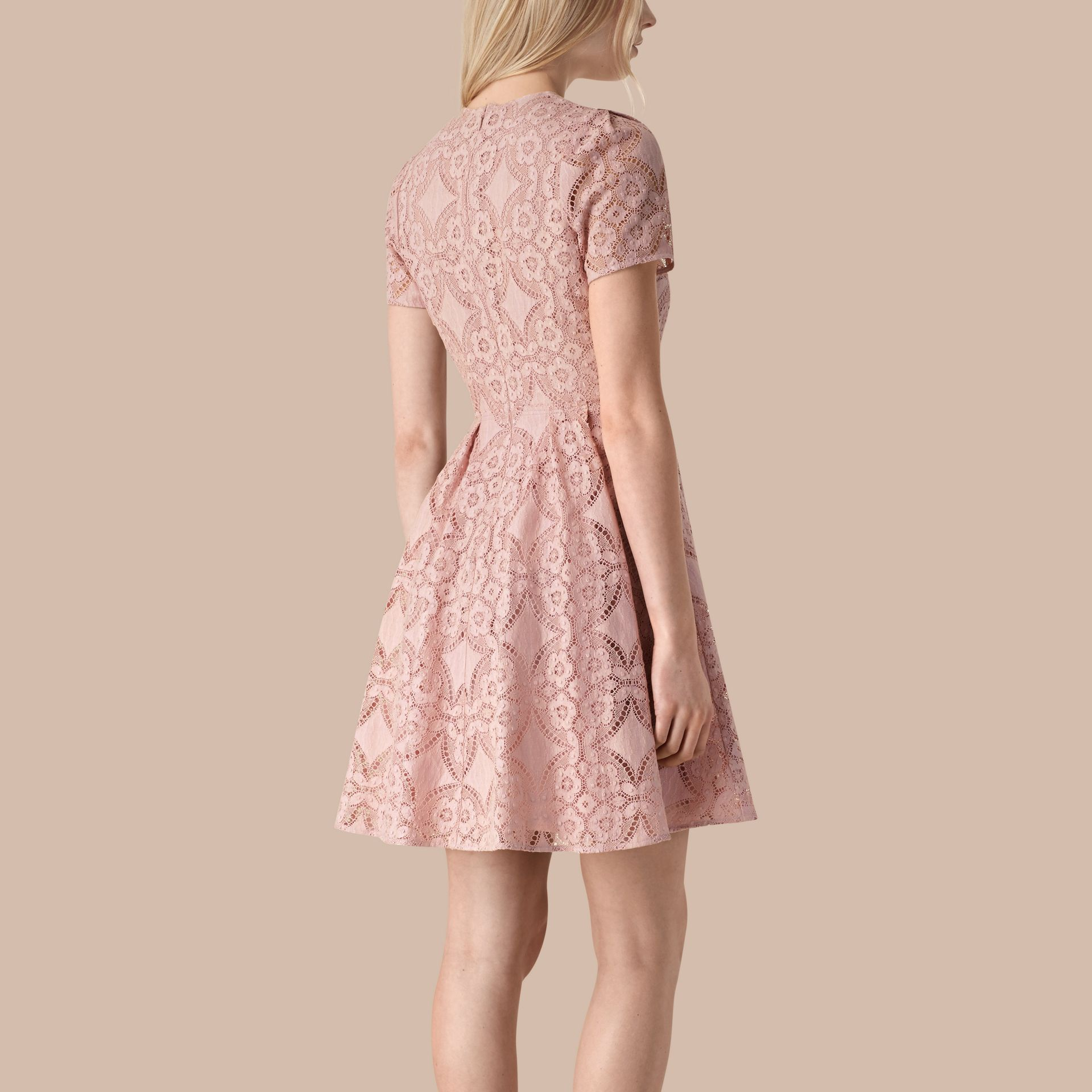Thistle pink English Lace A-line Dress Thistle Pink - gallery image 2