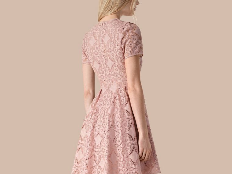 Thistle pink English Lace A-line Dress Thistle Pink - cell image 1