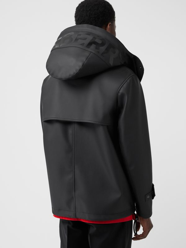 Detachable Hood Showerproof Jacket in Black - Men | Burberry Australia - cell image 2