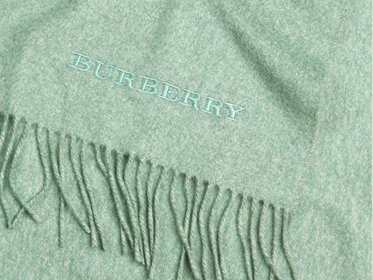 Dusty mint Cashmere Blanket Dusty Mint - cell image 1