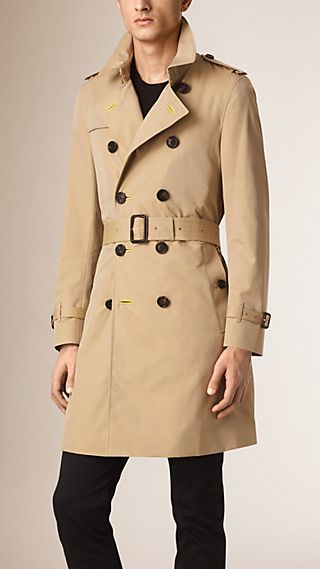 The Chelsea – Regimental Gabardine Trench Coat