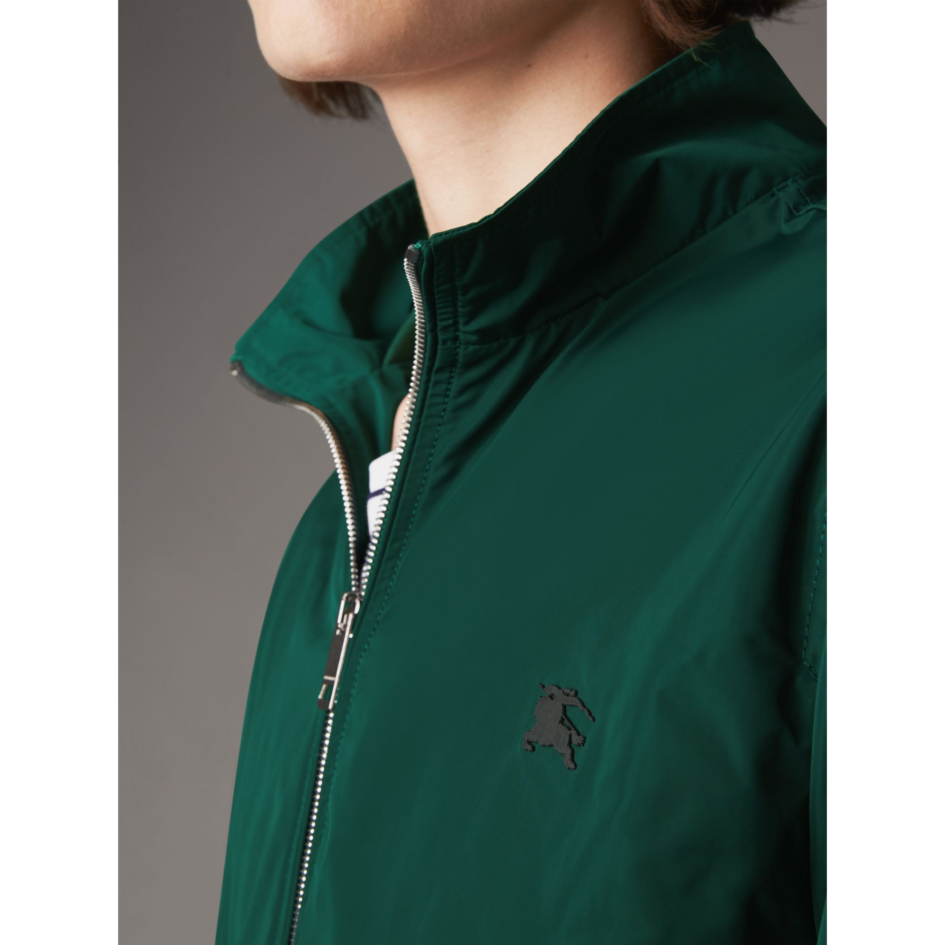 Lightweight Technical Jacket in Racing Green - Men | Burberry - gallery image 11