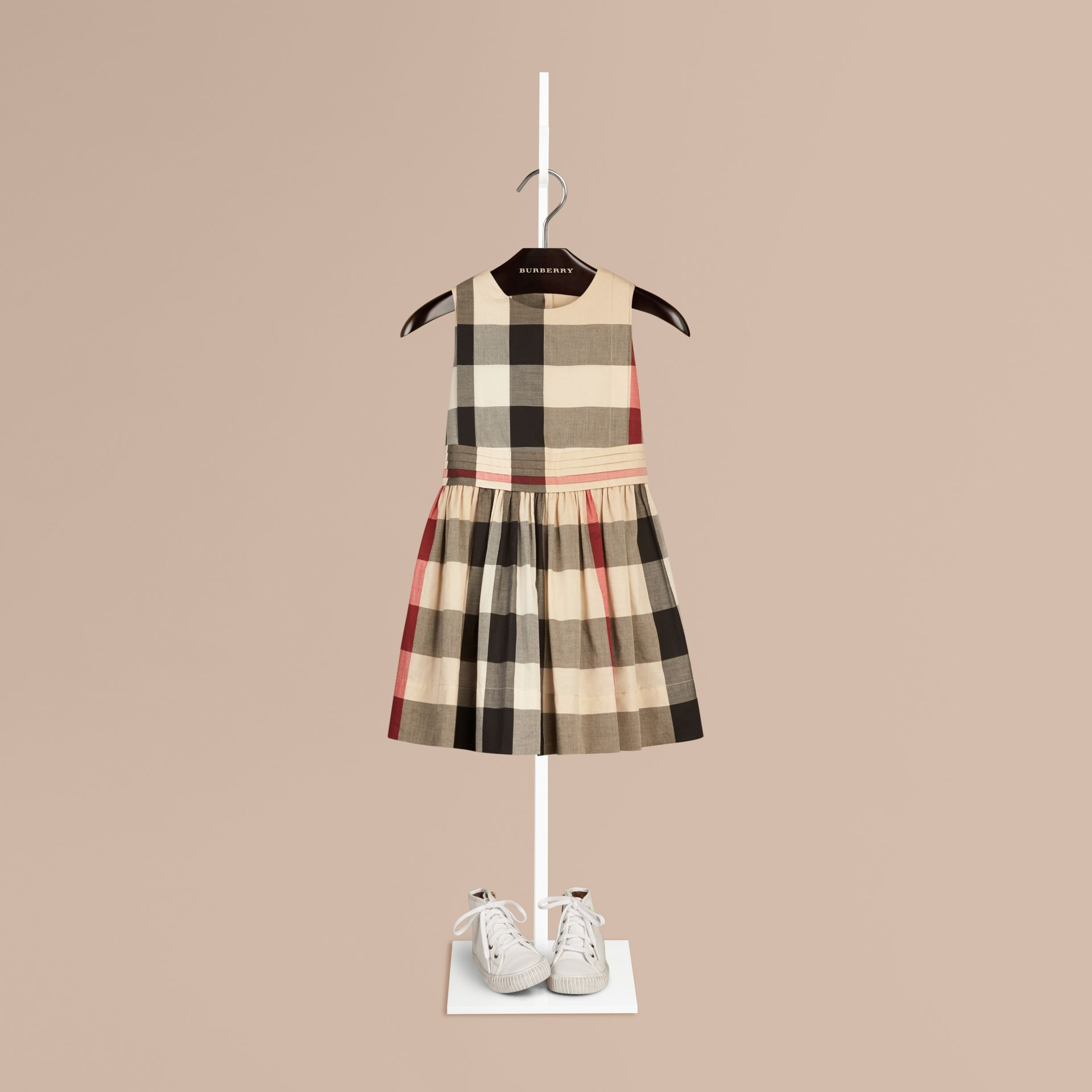 New classic check Sleeveless Check Cotton Dress New Classic - gallery image 1