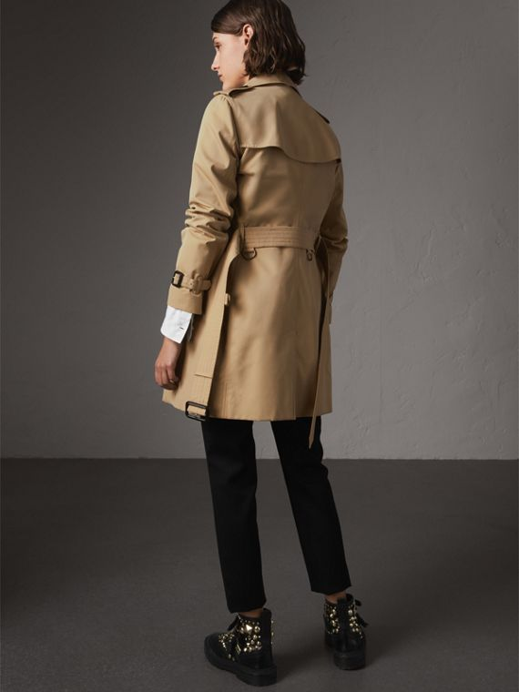 The Kensington – Mid-length Trench Coat in Honey - Women | Burberry - cell image 2