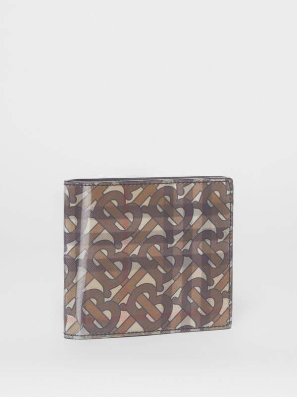 3D Print International Bifold Wallet in Archive Beige - Men | Burberry Australia - cell image 3